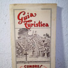 Libros antiguos: 1958 - GUÍA TURÍSTICA DE CUMBRES DEL MONTE DE SANTA TECLA (PONTEVEDRA), GUMERSINDO SALINAS. Lote 204530655