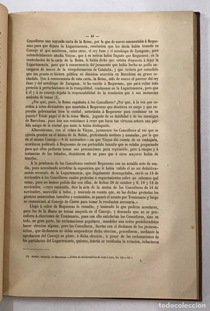 Libros antiguos: BARCELONA. SU PASADO, PRESENTE Y PORVENIR. - Foto 2 - 204769358