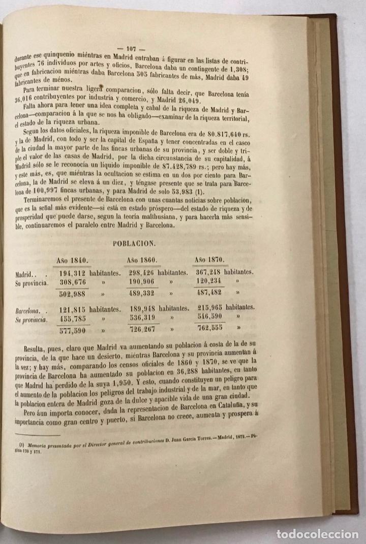 Libros antiguos: BARCELONA. SU PASADO, PRESENTE Y PORVENIR. - Foto 3 - 204769358