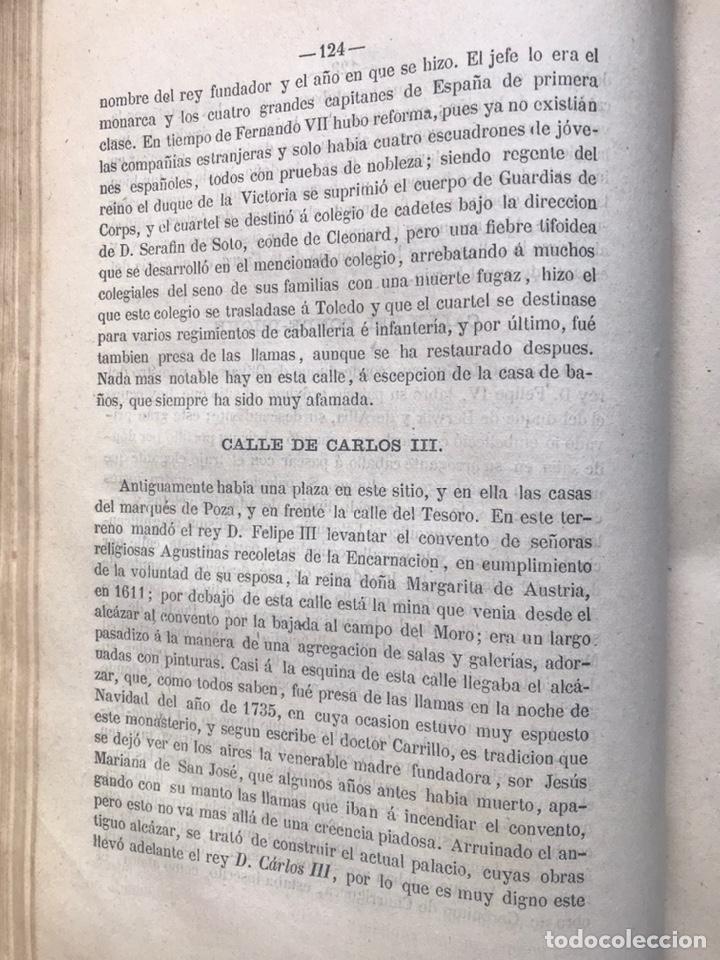 Libros antiguos: ORIGEN HISTÓRICO Y ETIMOLÓGICO DE LAS CALLES DE MADRID - D. ANTONIO CAPMANI Y MONTPALAU - 1863 - Foto 3 - 205136031