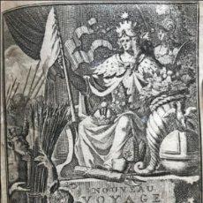 Libros antiguos: NOUVEAU VOYAGE D'ITALIE...TOMO I, 1702. F. MAXIMILIEN MISSON. FRONTISPICIO Y GRABADOS. Lote 205587851