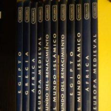 Libros antiguos: ATLAS CULTURALES DEL MUNDO-(EDICIONES DEL PRADO) 11 TITULOS. Lote 205805432