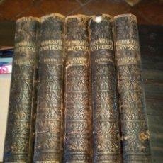 Libros antiguos: GEOGRAFÍA UNIVERSAL. INSTITUTO GALLACH 1930-1939.5 TOMOS. Lote 206603013