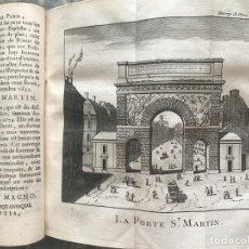 Libros antiguos: DESCRIPTION HISTORIQUE DE LA VILLE DE PARIS..., TOMO 4, 1765. PIGANIOL DE LA FORCE. GRABADOS. Lote 207283746