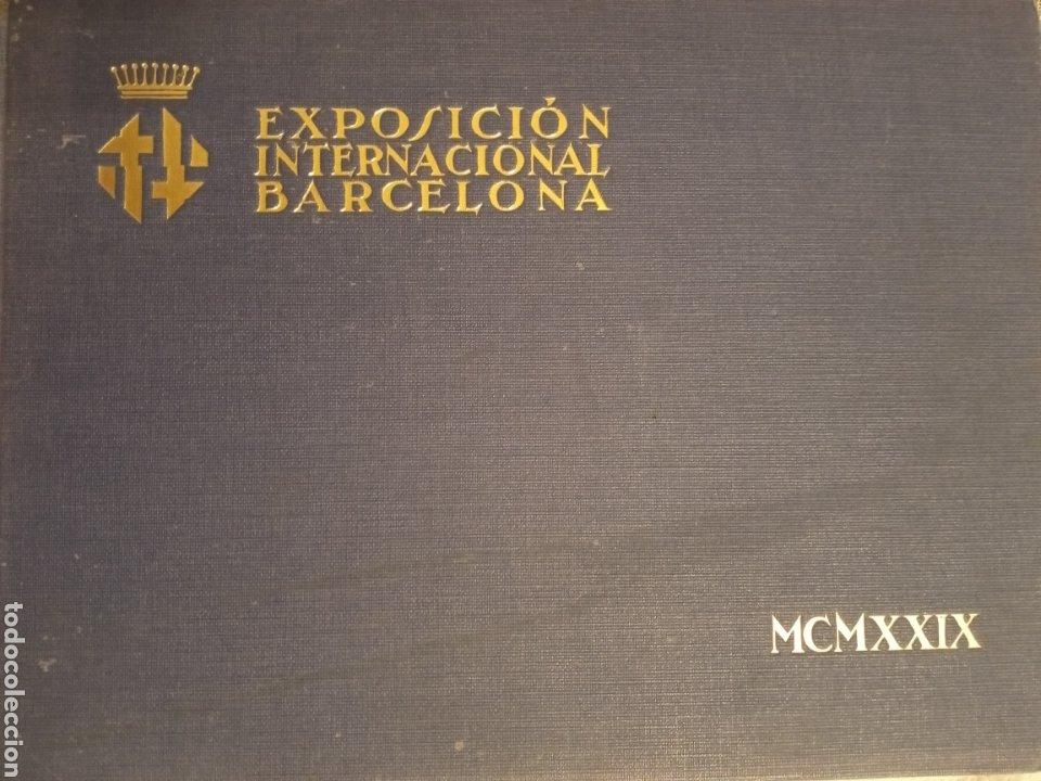 1929 LIBRO EXPOSICIÓN INTERNACIONAL BARCELONA (Libros Antiguos, Raros y Curiosos - Geografía y Viajes)