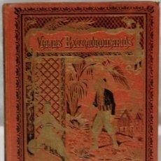Libros antiguos: VIAJES EXTRAORDINARIOS,CUENTOS DE CALLEJA,COLECCIÓN BIBLIOTECA ENCICLOPÉDICA PARA NIÑOS,1920.. Lote 208008987