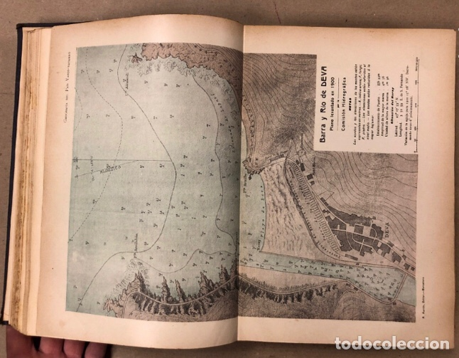 Libros antiguos: GEOGRAFÍA GENERAL DEL PAÍS VASCO-NAVARRO. TOMO 1: PROVINCIA DE GUIPÚZCOA POR SERAPIO MÚGICA - Foto 7 - 208177726