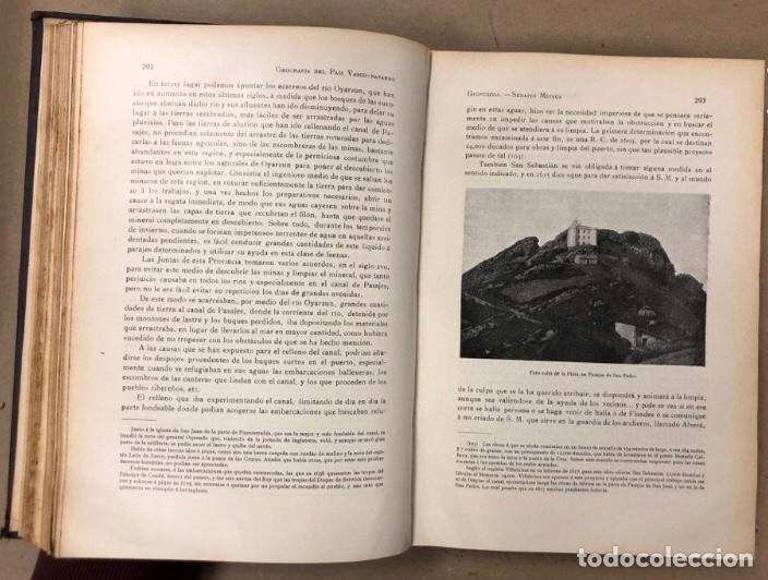 Libros antiguos: GEOGRAFÍA GENERAL DEL PAÍS VASCO-NAVARRO. TOMO 1: PROVINCIA DE GUIPÚZCOA POR SERAPIO MÚGICA - Foto 8 - 208177726