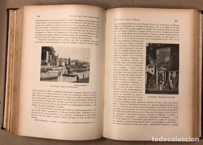Libros antiguos: GEOGRAFÍA GENERAL DEL PAÍS VASCO-NAVARRO. TOMO 1: PROVINCIA DE GUIPÚZCOA POR SERAPIO MÚGICA - Foto 11 - 208177726