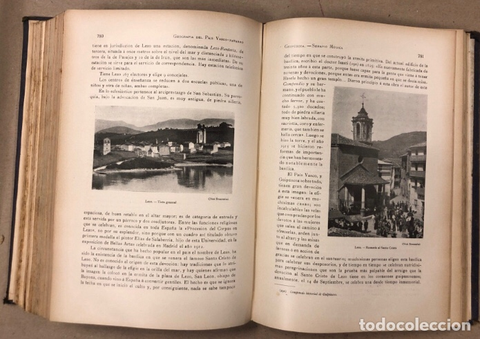 Libros antiguos: GEOGRAFÍA GENERAL DEL PAÍS VASCO-NAVARRO. TOMO 1: PROVINCIA DE GUIPÚZCOA POR SERAPIO MÚGICA - Foto 12 - 208177726