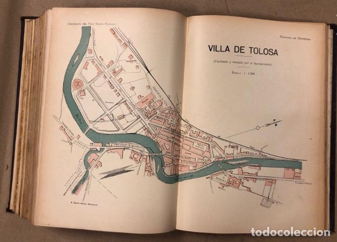 Libros antiguos: GEOGRAFÍA GENERAL DEL PAÍS VASCO-NAVARRO. TOMO 1: PROVINCIA DE GUIPÚZCOA POR SERAPIO MÚGICA - Foto 13 - 208177726