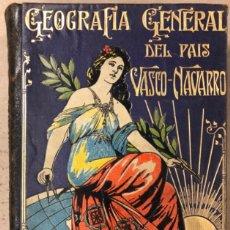 Libros antiguos: GEOGRAFÍA GENERAL DEL PAÍS VASCO-NAVARRO. TOMO 1: PROVINCIA DE GUIPÚZCOA POR SERAPIO MÚGICA. Lote 208177726