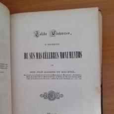Libri antichi: TOLEDO PINTORESCA. JOSÉ AMADOR DE LOS RÍOS, MADRID 1845. Lote 209055745