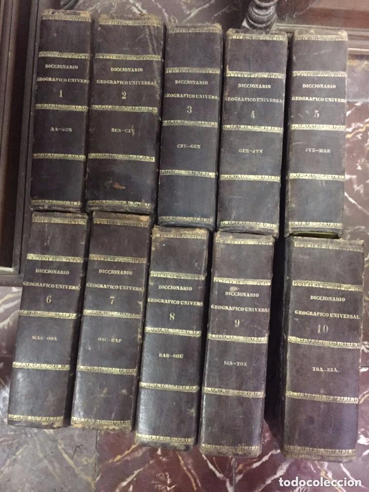 Libros antiguos: Diccinario Geografico Universal. Barcelona. Jose Torner. 1830-34. - Foto 3 - 209236957