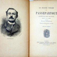 Libros antiguos: LE SECOND VOYAGE DE PASSEPARTOUT-PIERRE DURANDAL. Lote 209612927