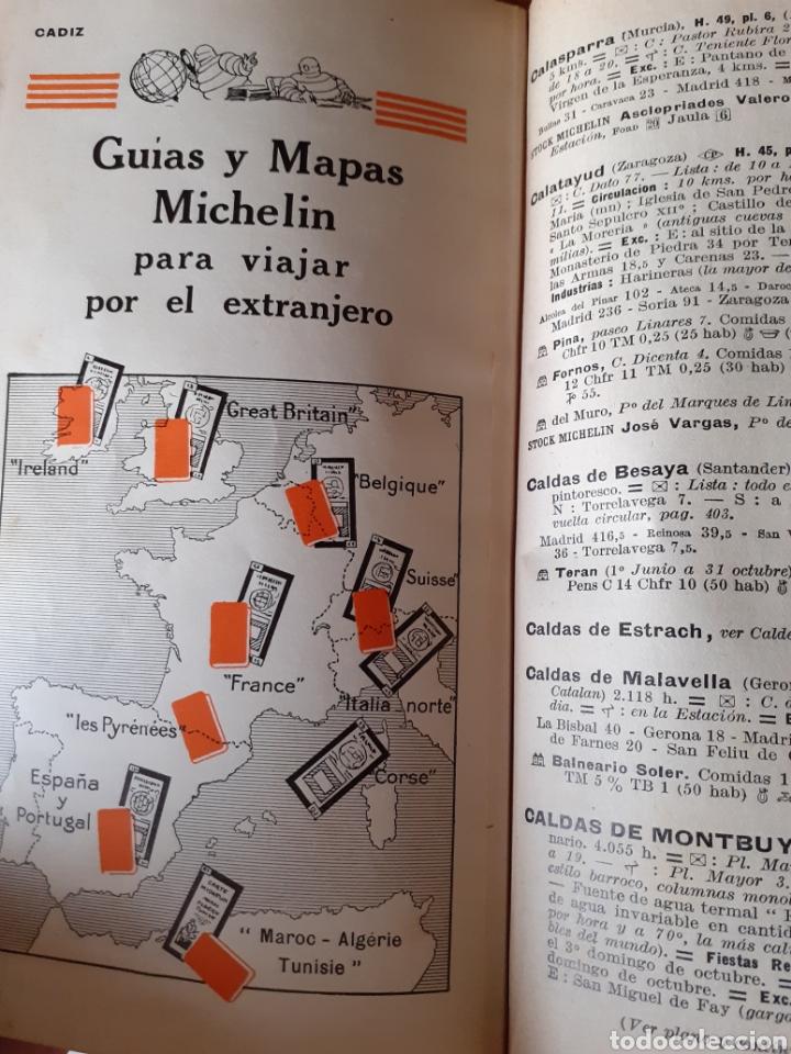Libros antiguos: Guía Michelín España Portugal 1929 - Foto 4 - 209710940
