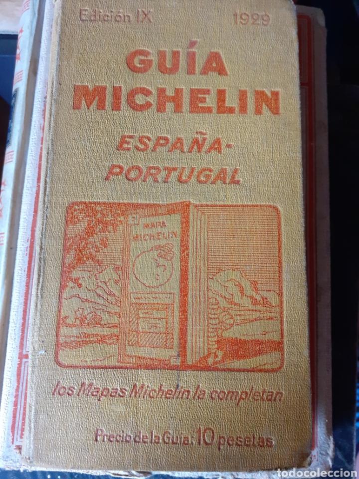GUÍA MICHELÍN ESPAÑA PORTUGAL 1929 (Libros Antiguos, Raros y Curiosos - Geografía y Viajes)
