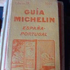 Libros antiguos: GUÍA MICHELÍN ESPAÑA PORTUGAL 1929. Lote 209710940