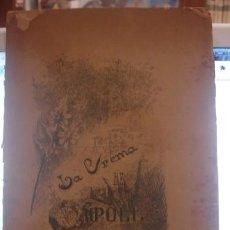 Livros antigos: LA CREMA DE RIPOLL - VERA NARRACIÓ D. JOSEPH M. PELLICER Y PAGÉS 1896. Lote 210179746