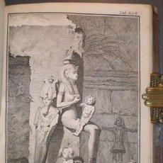 Libros antiguos: NIEBUHR, CARSTEN: REISEBESCHREIBUNG NACH ARABIEN UND ANDERN UMLIEGENDEN LANDERN. 1774. EGIPTO, YEMEN. Lote 210335077