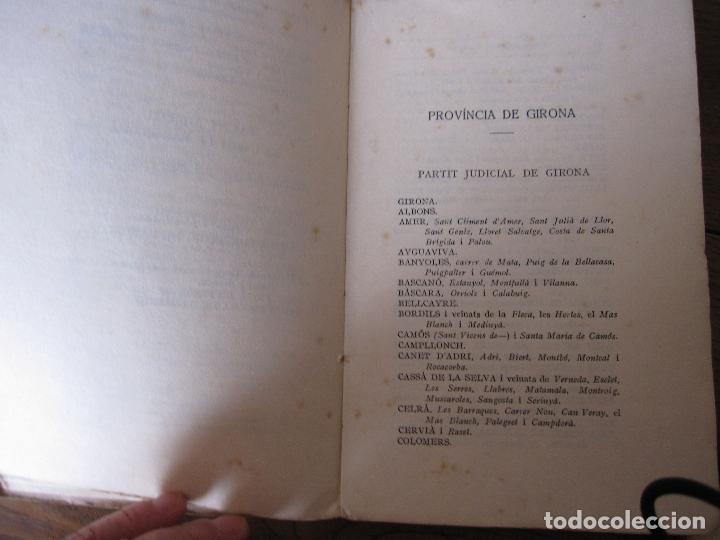 Libros antiguos: NOMENCLATOR DE LES CIUTATS, VILES I POBLES DE CATALUNYA. 1918. IMPRENTA DE LA CASA DE CARITAT - Foto 5 - 210466135