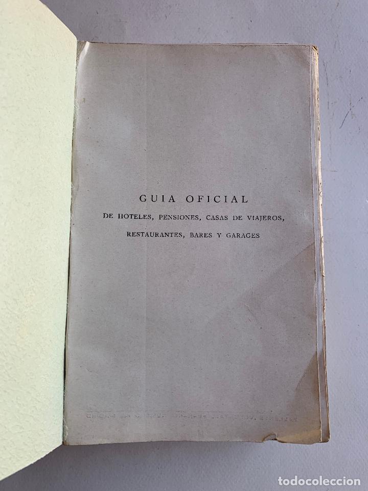 Libros antiguos: GUIA OFICIAL DE HOTELES , PENSIONES , CASAS DE VIAJEROS , RESTAURANTES , BARES Y GARAGES . 1929 . - Foto 5 - 210475656