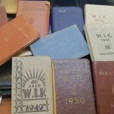 Libros antiguos: AGENDAS CON MAPAS. Lote 210771822
