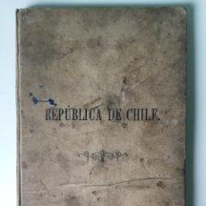 Libros antiguos: BREVE DESCRIPCIÓN DE LA REPÚBLICA DE CHILE. Lote 210796237