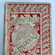 Libros antiguos: L- 5103. LAS CAPITALES DEL MUNDO. HENRICH Y CIA. EN COMANDITA EDITORES. 1893.. Lote 210844420