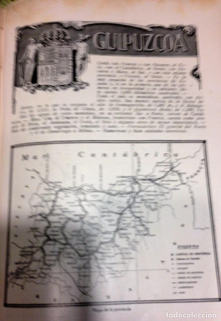 Libros antiguos: Libro Geografía Gráfica de España por Carcer de Montalban - Foto 4 - 212477662