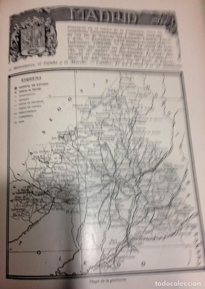 Libros antiguos: Libro Geografía Gráfica de España por Carcer de Montalban - Foto 5 - 212477662