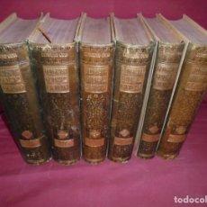 Libros antiguos: MAGNIFICA COLECCION COMPLETA DE SEIS TOMOS GEOGRAFIA GENERAL CATALUNYA,FRANCESCH CARRERAS Y CANDI. Lote 213535053