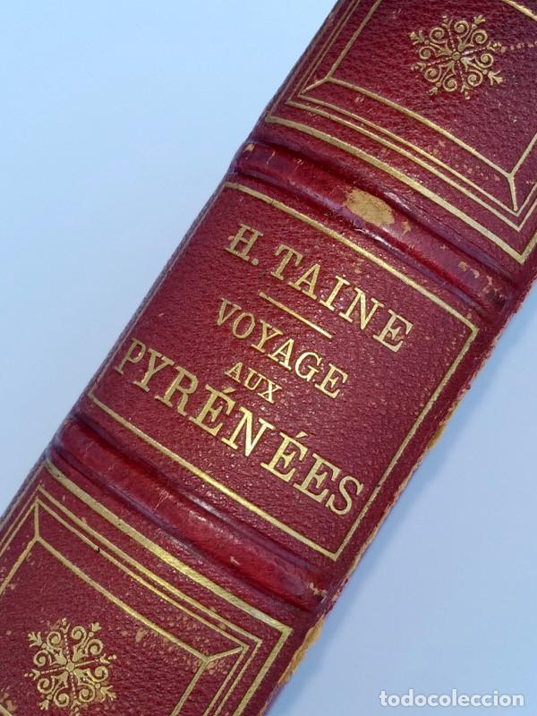 Libros antiguos: VOYAGE AUX PYRÉNÉES - H.Taine - 1880 - Ilustrado por GUSTAVE DORÉ - Magnífico ejemplar - Foto 2 - 213737092