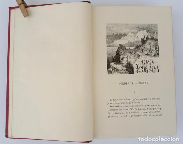 Libros antiguos: VOYAGE AUX PYRÉNÉES - H.Taine - 1880 - Ilustrado por GUSTAVE DORÉ - Magnífico ejemplar - Foto 4 - 213737092