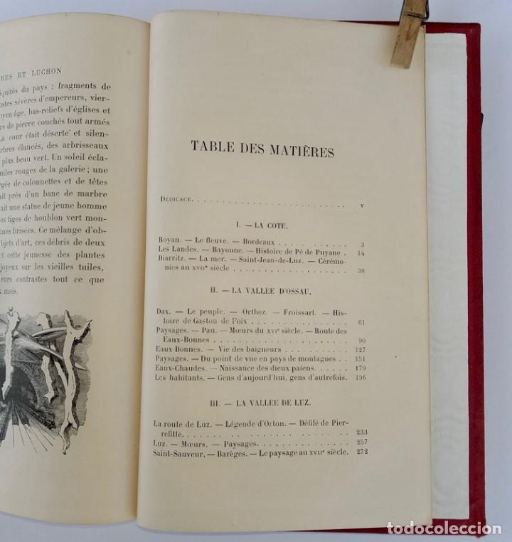 Libros antiguos: VOYAGE AUX PYRÉNÉES - H.Taine - 1880 - Ilustrado por GUSTAVE DORÉ - Magnífico ejemplar - Foto 5 - 213737092