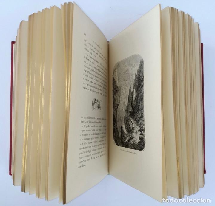 VOYAGE AUX PYRÉNÉES - H.TAINE - 1880 - ILUSTRADO POR GUSTAVE DORÉ - MAGNÍFICO EJEMPLAR (Libros Antiguos, Raros y Curiosos - Geografía y Viajes)