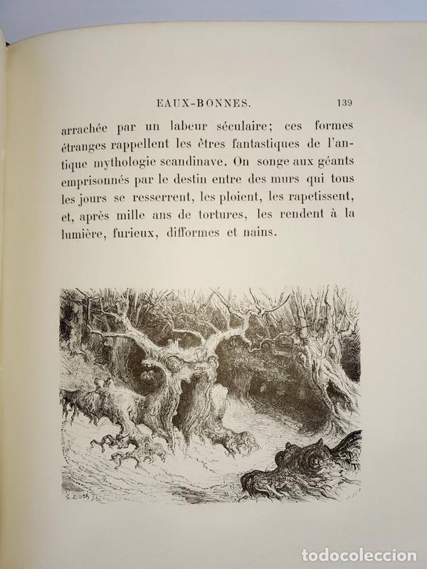Libros antiguos: VOYAGE AUX PYRÉNÉES - H.Taine - 1880 - Ilustrado por GUSTAVE DORÉ - Magnífico ejemplar - Foto 8 - 213737092