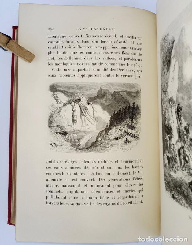 Libros antiguos: VOYAGE AUX PYRÉNÉES - H.Taine - 1880 - Ilustrado por GUSTAVE DORÉ - Magnífico ejemplar - Foto 6 - 213737092