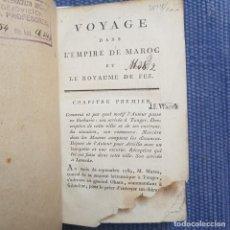 Libros antiguos: LEMPRIÈRE, G.: VOYAGE DANS L'EMPIRE DE MAROC ET LE ROYAUME DE FEZ. Lote 261264805