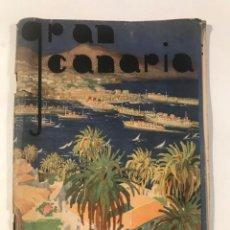 Libros antiguos: GRAN CANARIA GUIDE TURISTIQUE . COMITE PROVINCIAL DE TURISMO. Lote 214034341