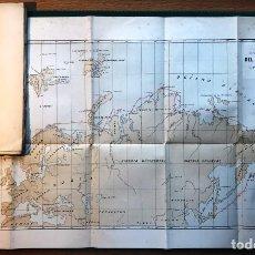 Libri antichi: EL PASO DEL NORDESTE. 1880 MAPA NORTE DE EUROPA Y RUSIA. GEOGRAFÍA, MARINA, NAVEGACIÓN. Lote 214297428