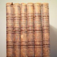 Livres anciens: LA VUELTA AL MUNDO, VIAJES INTERESANTES Y NOVÍSIMOS TODOS LAÍSES (6 VOL. - COMPLETO) - MADRID 1965. Lote 214660067