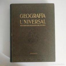 Libri antichi: GEOGRAFIA UNIVERSAL - AMERICA - TOMO V - INSTITUTO GALLACH, AÑO 1931, 616 PAGINAS, TAPA DURA. Lote 214754081