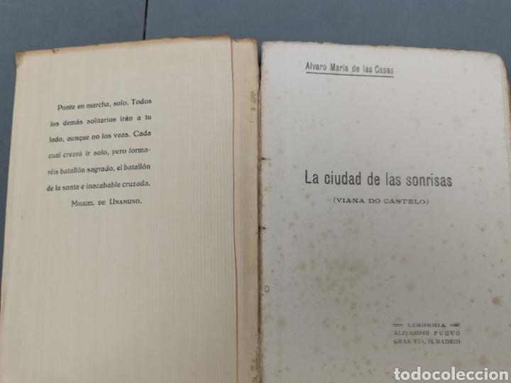 Libros antiguos: LA CIUDAD DE LAS SONRISAS (VIANA DO CASTELO Autor:ÁLVARO MARÍA DE LAS CASAS MCMXXVl - Foto 4 - 215673010