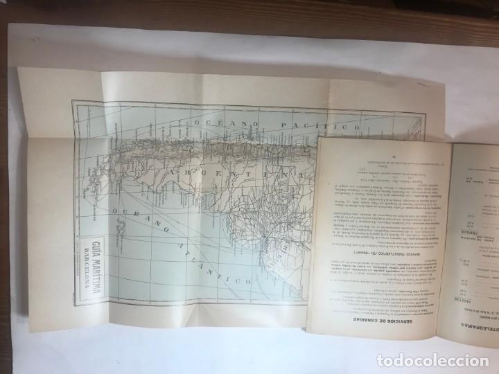 Libros antiguos: GUIA MARITIMA LINEAS REGULARES DE VAPORES 1915 ITINERARIOS MUNDIALES - Foto 2 - 215948908