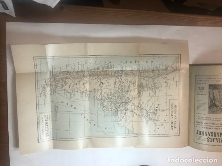 Libros antiguos: GUIA MARITIMA LINEAS REGULARES DE VAPORES 1915 ITINERARIOS MUNDIALES - Foto 3 - 215948908