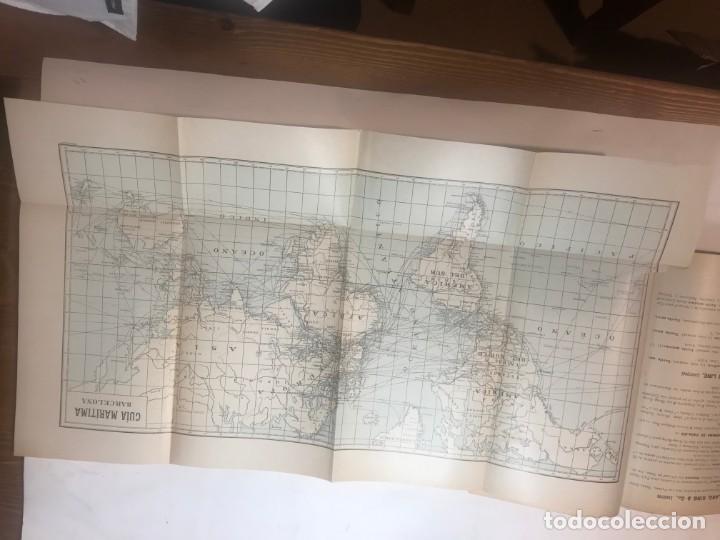 Libros antiguos: GUIA MARITIMA LINEAS REGULARES DE VAPORES 1915 ITINERARIOS MUNDIALES - Foto 4 - 215948908