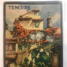 Libros antiguos: TENERIFE. AÑOS 20? JUNTA INSULAR DE TURISMO AÑOS 20 16 FOTOGRAFIAS . ESPAÑOL, ALEMAN, INGLES. Lote 215950190