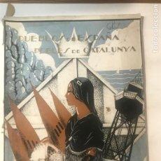 Libros antiguos: PUEBLOS DE ESPAÑA POBLES DE CATALUNYA NOVIEMBRE 1934 PABLO GORGE. Lote 216504928