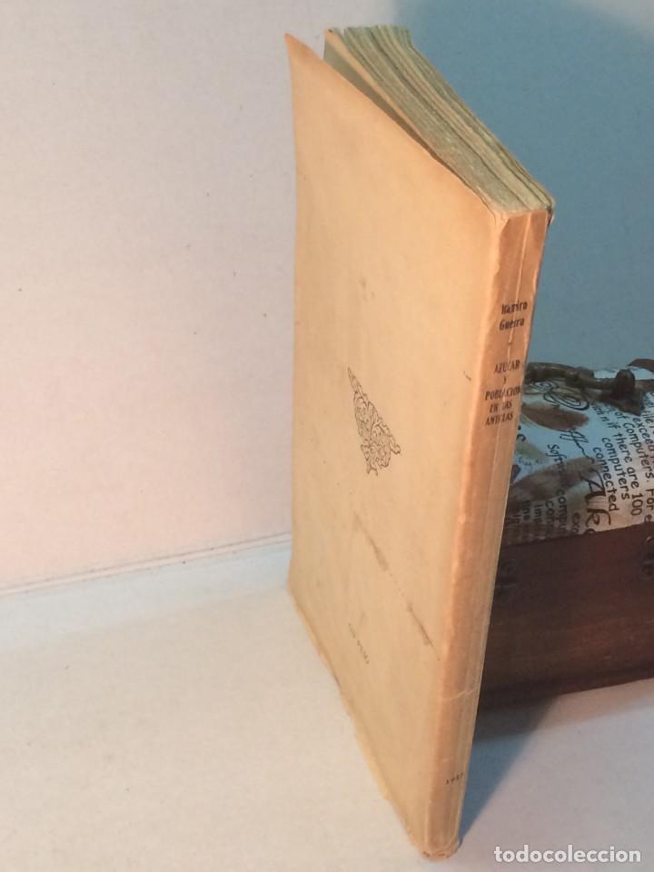Libros antiguos: Ramiro Guerra y Sánchez: Azúcar y Población en las Antillas (1927) - Foto 2 - 217958473